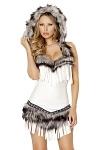 Indianer Kostüm - White Native American Lady