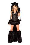 Katzen Kostüm Black Cat komplett - JValentine USA