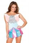Kostüm Overall Elefant