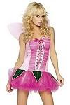 Kostüm Pink Pixie Gr.S/M