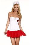 Krankenschwester Kostüm - Kleid Anja