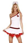 Krankenschwester Minikleid - Kostüm Maria