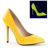 Lack Pumps Amuse-20 neon gelb