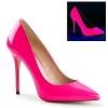 Lack Pumps Amuse-20 neon pink