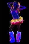 LED Petticoat regenbogenfarben