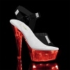 LED Plateau Sandalette Flashdance-208