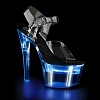 LED Plateau Sandalette Flashdance-708