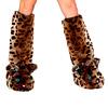 Leopard Beinstulpen