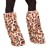 Leopard Kostüm Beinstulpen pink leo