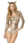Leopard Kostüm Body