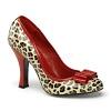 Leopard Pumps Smitten-01 rot