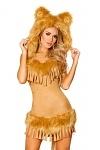 Löwenkostüm Wild Lion - Löwen Kostüm Kleid