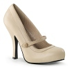 Mary Jane Pumps Cutiepie-02 Matt creme