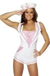 Matrosen Kostüm - Leichtmatrosin Pink
