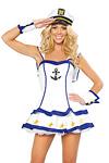 Matrosin Kostüm - Sailor Captain