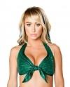 Mermaid Neckholder Top grün
