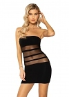 Minikleid Black Tube Dress