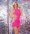 Minikleid Club Diamond pink