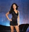 Minikleid  Diva Dancer schwarz