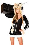 Minikleid - Hamster DJ - Hamster Kost�m MC Hamster No.3