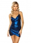 Minikleid Metallic Girl Blue