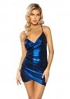 Minikleid Metallic Girl Blue