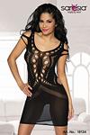 Minikleid schwarz - sexy Marina