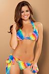 Sexy Bikini Rainbow