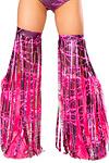 Fransen Beinstulpen - Pink Power