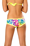 Pole Dance Shorts Neon Cosmos
