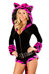 Tiger Overall pink Kost�m - Premium Qualit�t