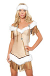 Indianer Kost�m - Snow Princess