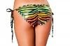 Regenbogen Bikini H�schen zum Binden