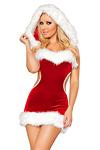 Weihnachtskleid Miss Claus Gr.S