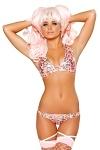 Bikini Pink Leopard