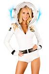 Astronauten Kost�m Valentina Gr.S