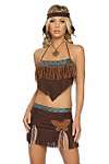 Sexy Indianer Kost�m Gr.M/L