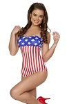American Pin Up Girl Monokini