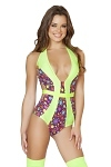 Retro Monokini Multi Dot�s
