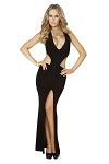 Edles Abendkleid Leyla schwarz