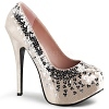 Plateau Pumps Teeze-06SQ Holo