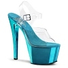 Plateau High Heels Sky-308 Chrome Sandalette