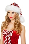 Weihnachtsm�tze Candy Stripe
