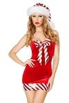 Weihnachtskost�m Candy Girl
