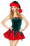 Weihnachtskleid Miss Claus