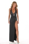 Sexy Abendkleid Sandy - schwarz