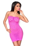 GoGo Minikleid Cut-Out pink