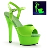 Plateau High Heels Kiss-209UV