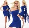 Sexy Minikleid blau