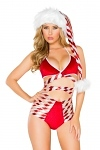 Weihnachtskost�m - Retro Strappy Shorts Set